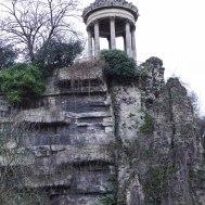 Parc des Buttes-Chaumont - Temple de la Sibylle