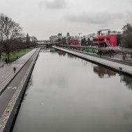 Parc de la Villette - Canal