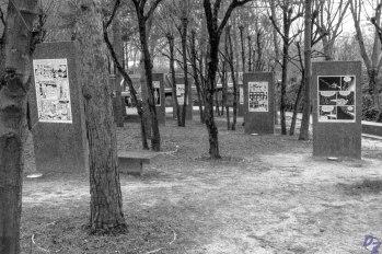 """Parc de la Villette - Exposition Michel Rabagliati dans le cadre de """"Le Quebec à la Villette"""""""