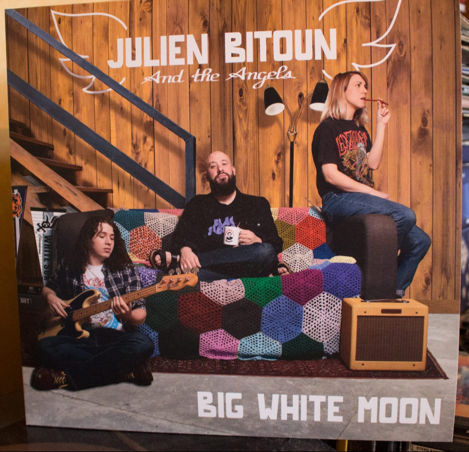 Julien Bitoun and the Angels - Big White Moon